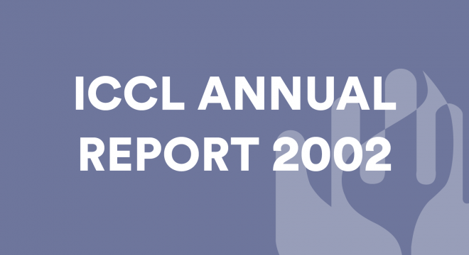 ICCL Annual Report 2002