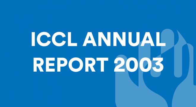 ICCL Annual Report 2003