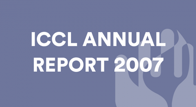 ICCL Annual Report 2007