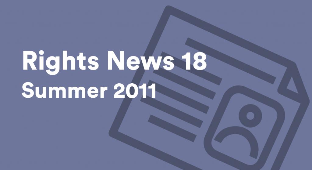 Rights News 18 Summer 2011