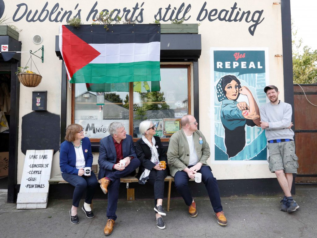 ICCL unveils mural calling for Repeal of the 8th Amendment