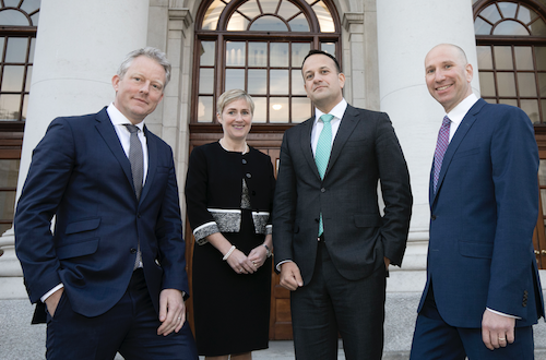 Taoiseach Leo Varadkar with GMI reps