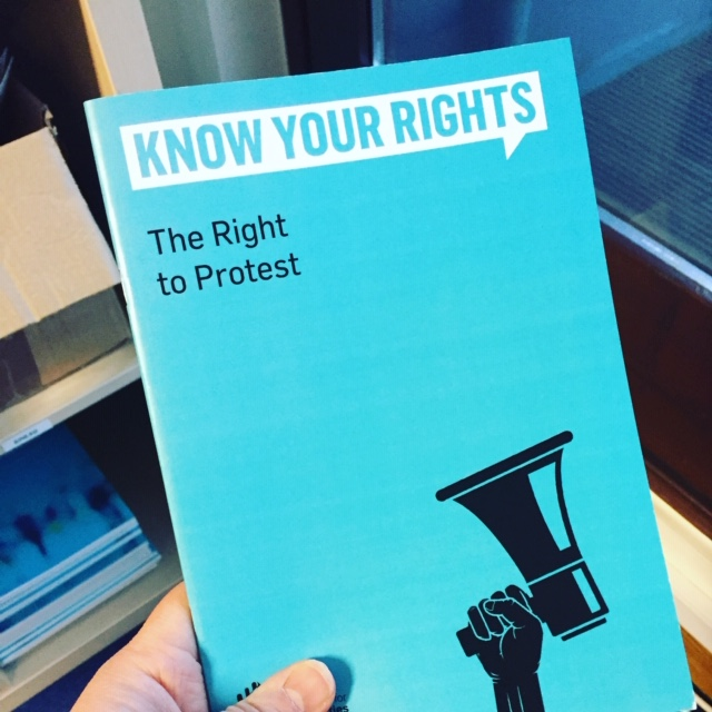 ICCL launches Know Your Rights guide for protesters