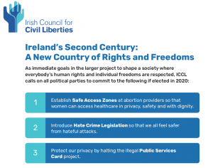 ICCL asks candidates to commit to 8 straightforward human rights advances